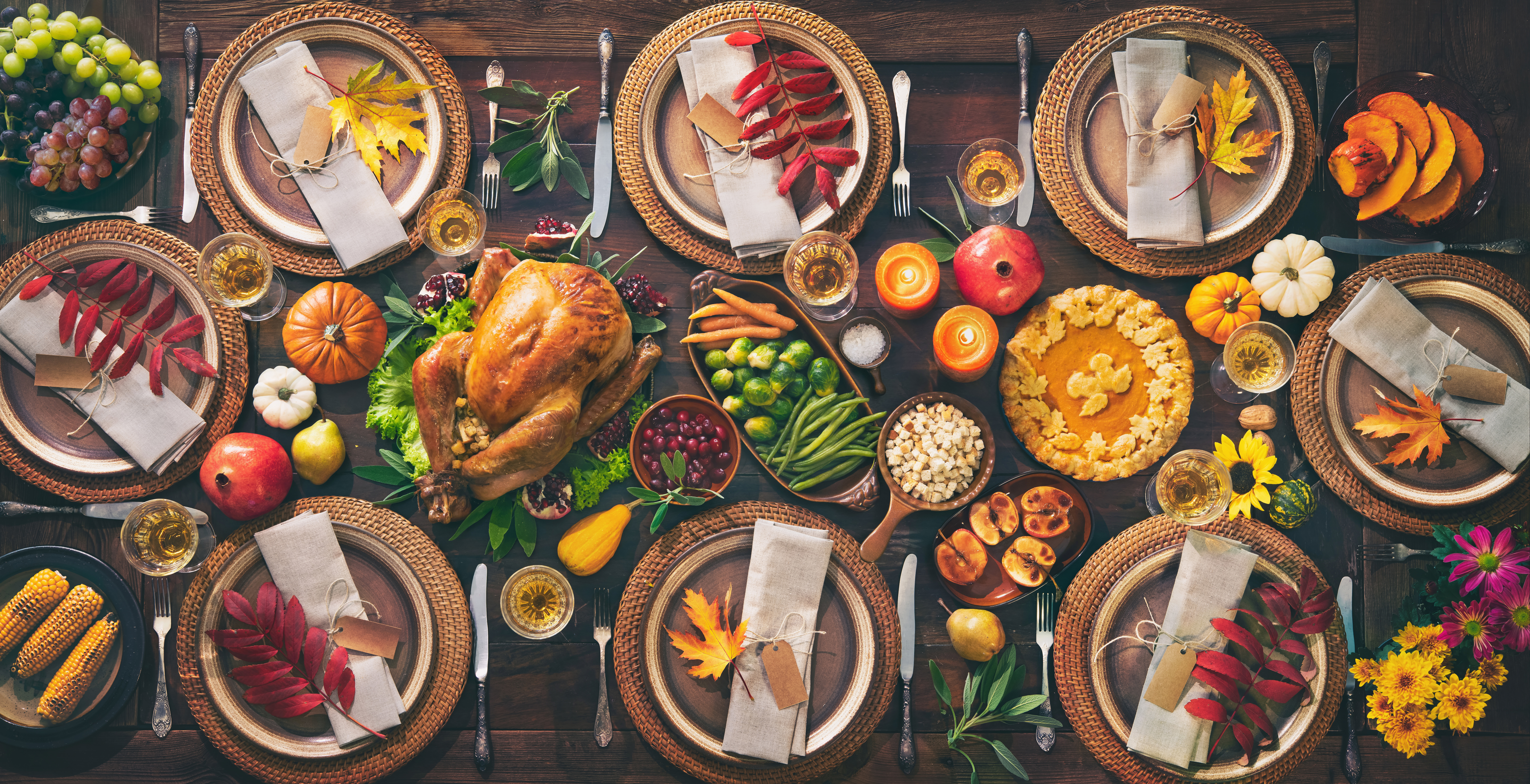Best Thanksgiving recipes - holiday table