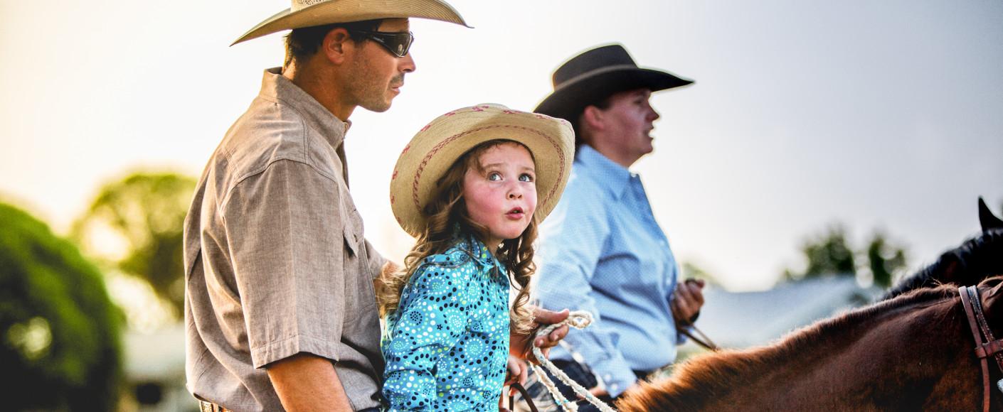 Family ranch vacations in Kansas