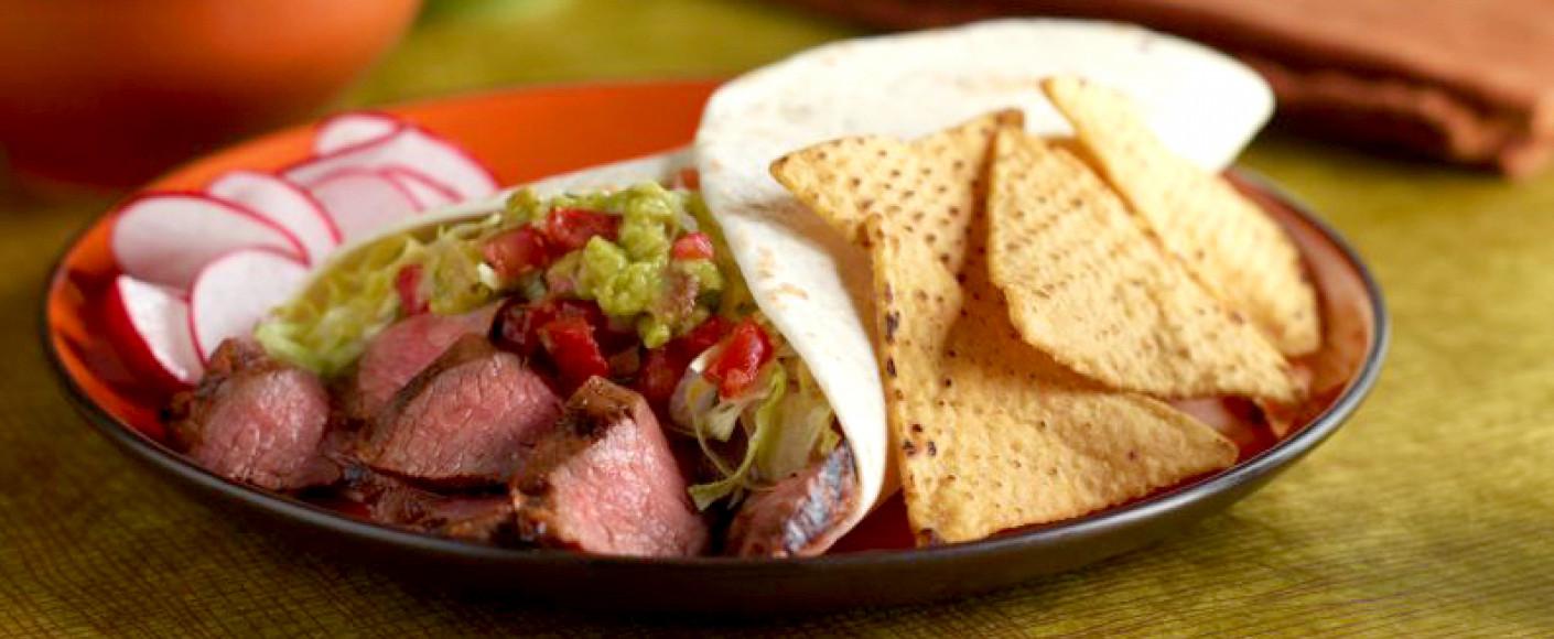 Delicious Steak Burritos Header