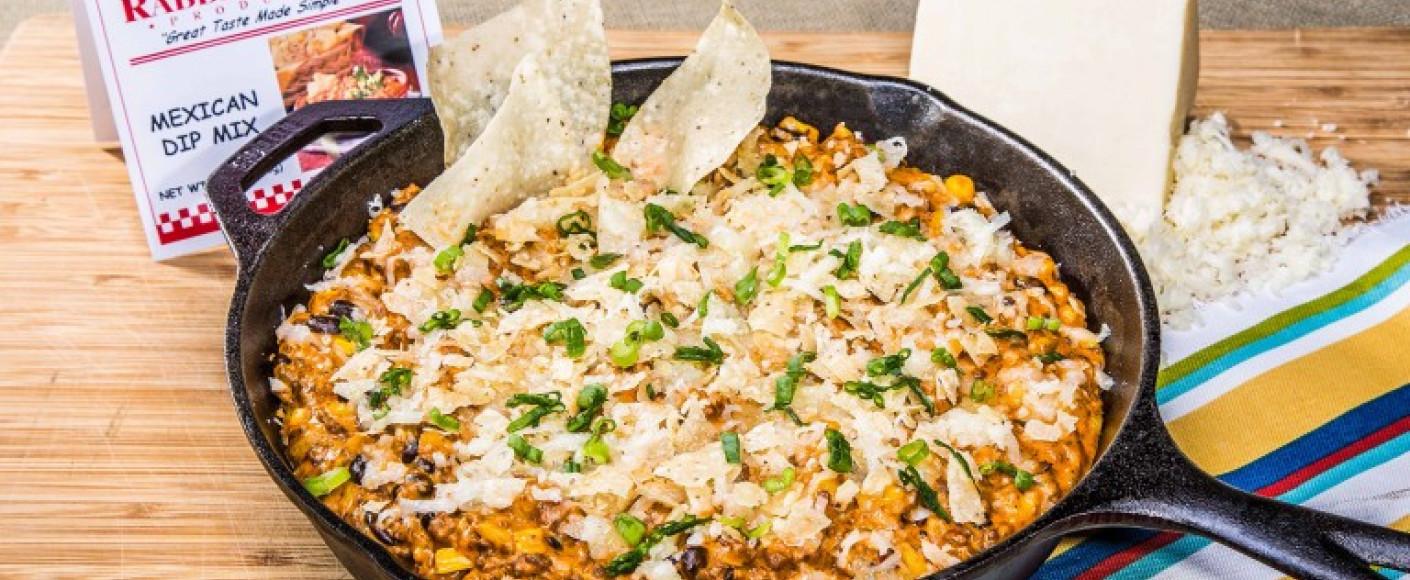 Skillet Enchilada Dip Recipe