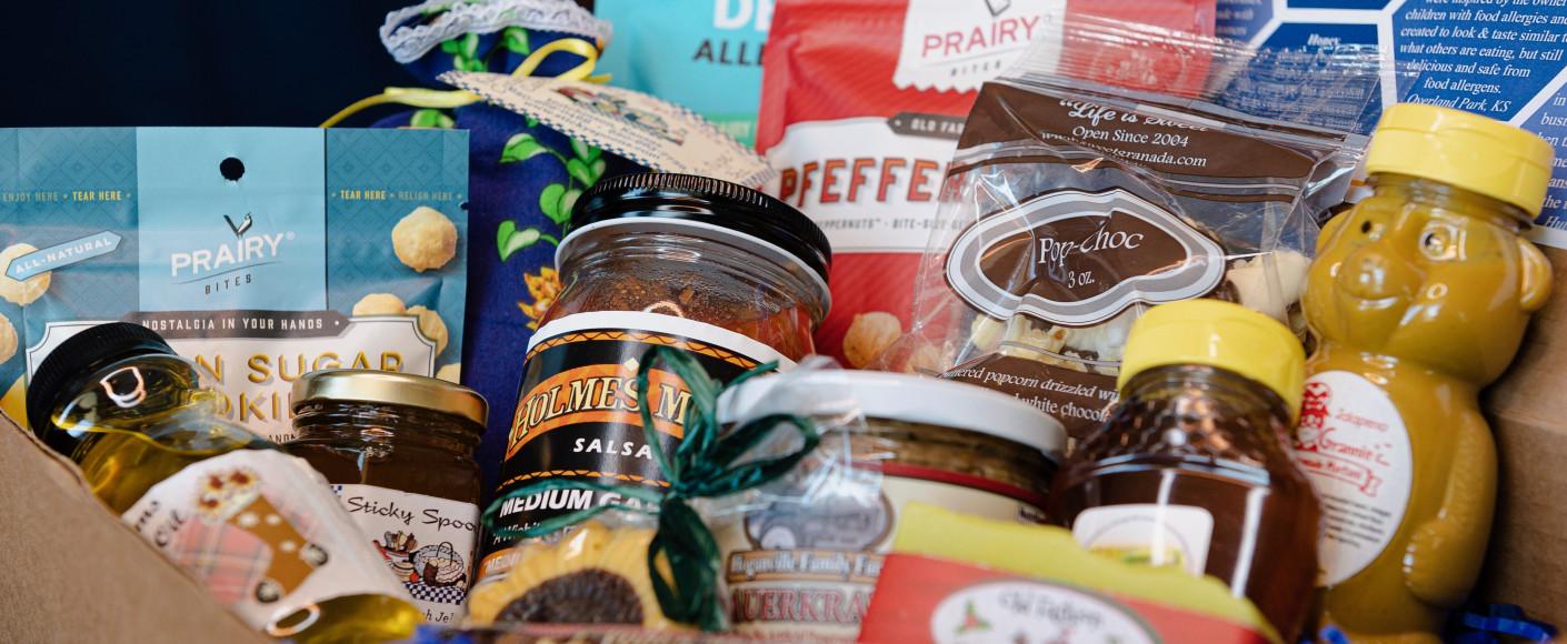 Kansas holiday gift baskets