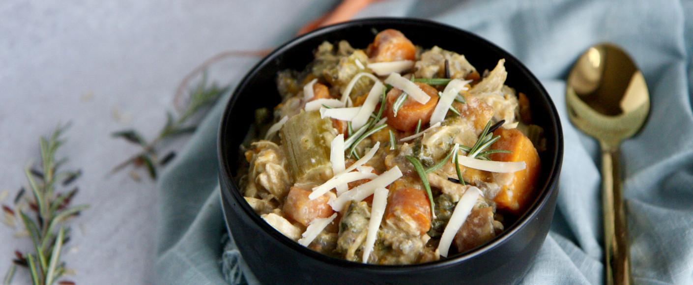 Creamy Autumn Wild Rice Soup Recipe