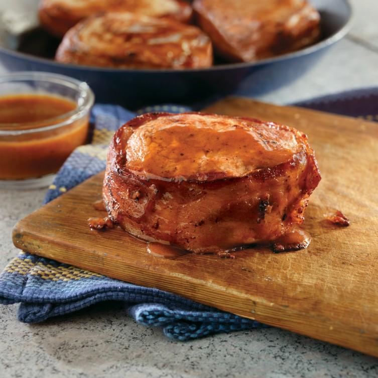 Bacon Wrapped Pork Chop Recipe