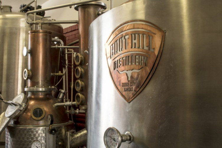 Boot Hill Distillery Stills
