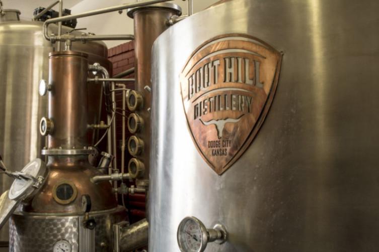 Boot Hill Distillery Stills