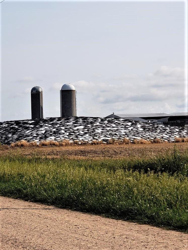 Ohlde Dairy empty silos