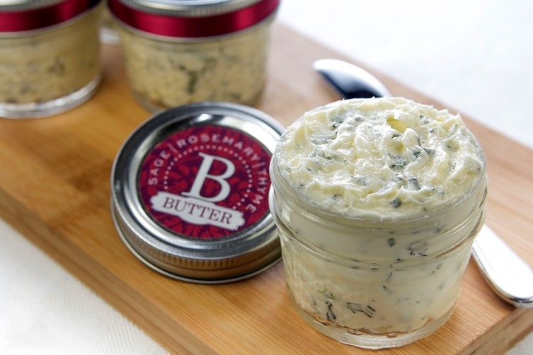 Sage, Rosemary, and Thyme Butter