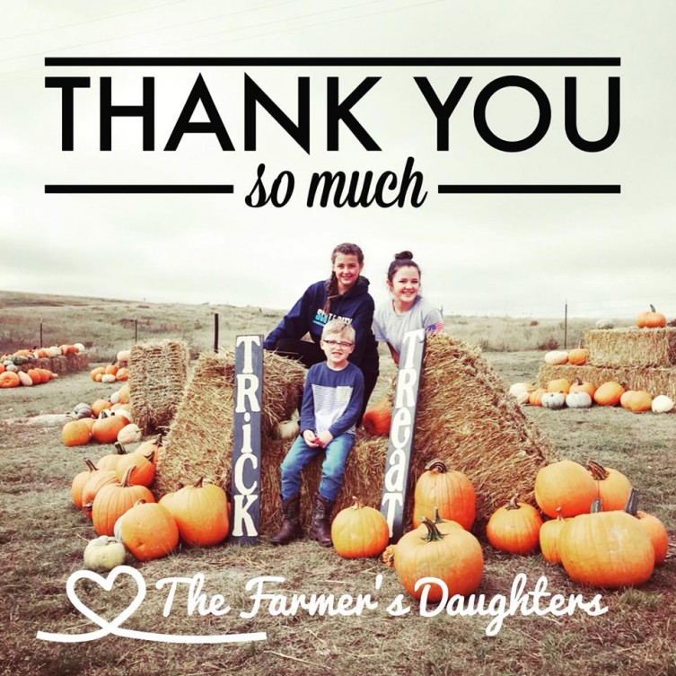 Farmers Daughters Pumpkins graphic