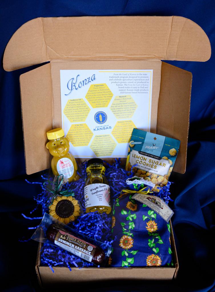 Kansas holiday gift baskets - Konza