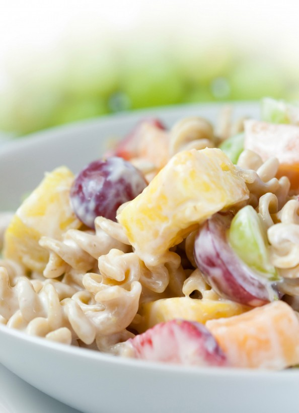 Recipe Fruit and Pasta Toss