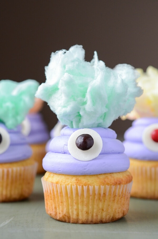 Monster cupcake recipe