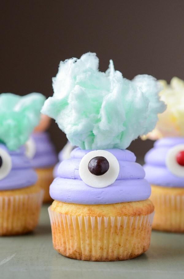 Monster cupcake recipe