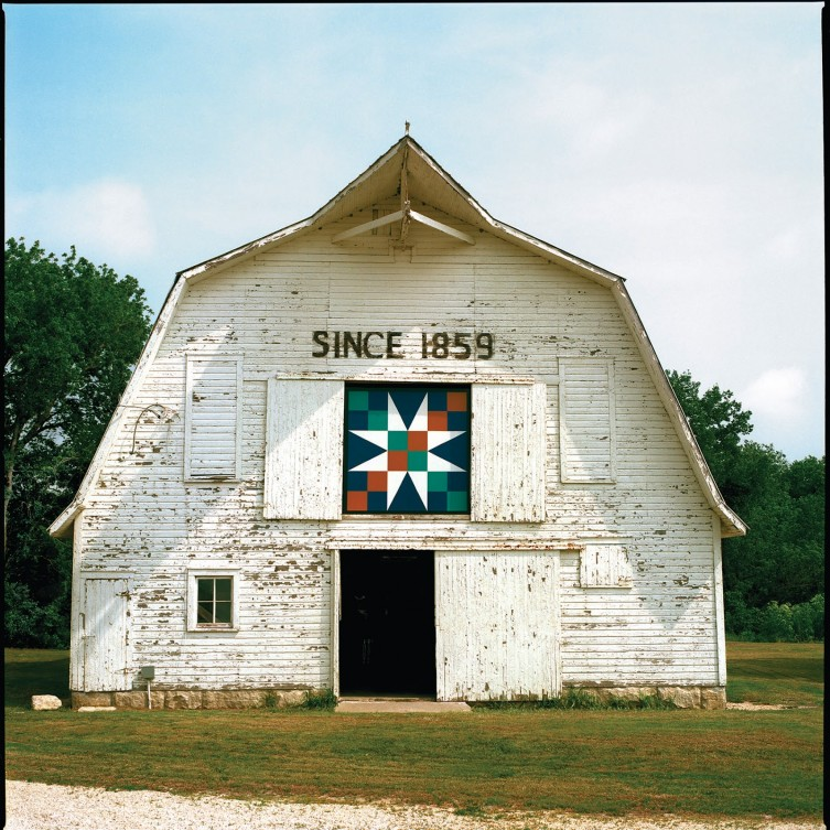 Barn Quilt Pioneer Bluffs