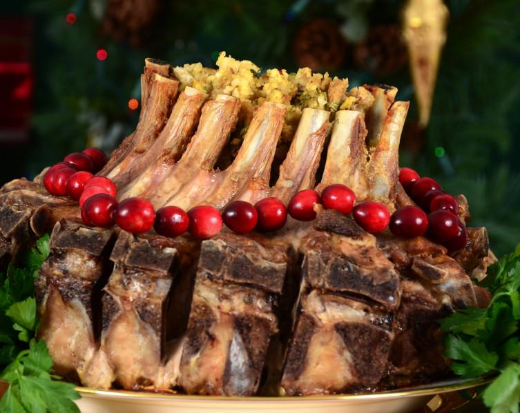 Pork rib roast crown