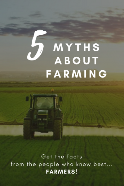 5 myths about farming