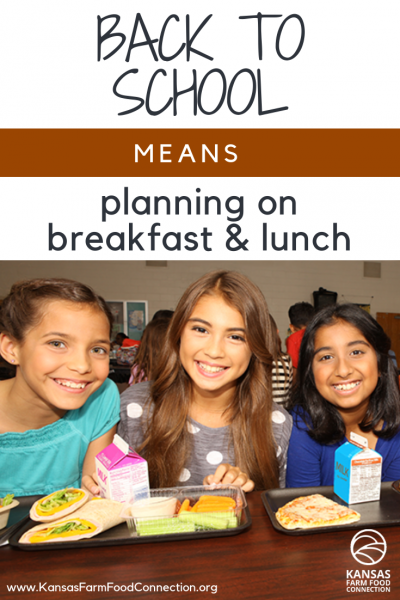 School breakfast and lunch on Pinterest