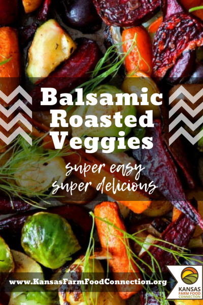 Easy Balsamic Roasted Vegetable recipe