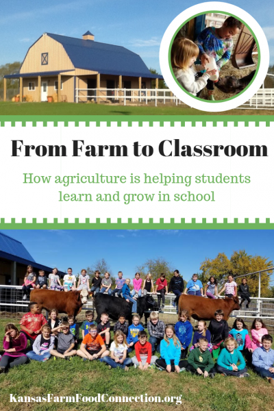 Agriculture programs in elementary school