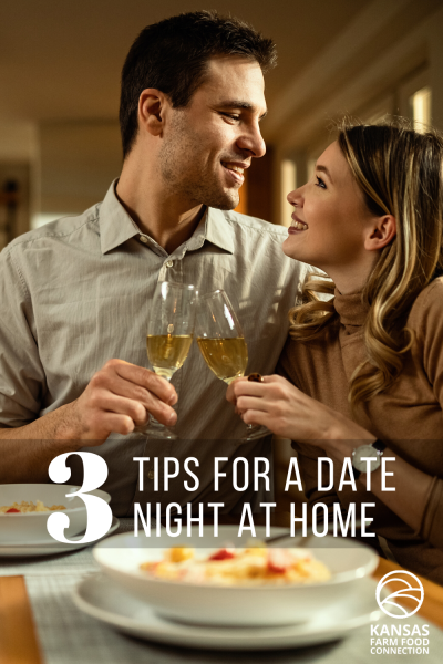 3 Tips for a Great Date Night At Home