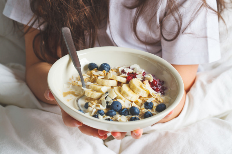 Oatmeal and other great recipes for kids