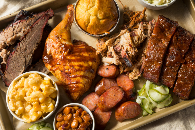 Different types of barbecue
