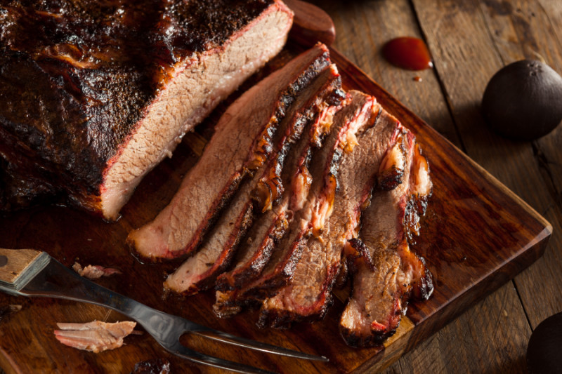 Sliced brisket - best barbecue recipes