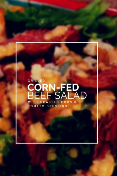 Best Grilled Steak Salad