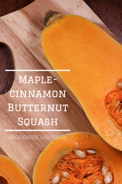 The best way to use squash- maple cinnamon butternut squash