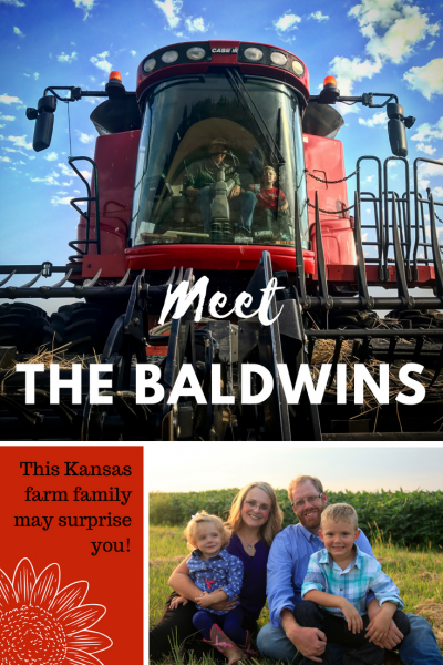 Baldwins Kansas Farm Family