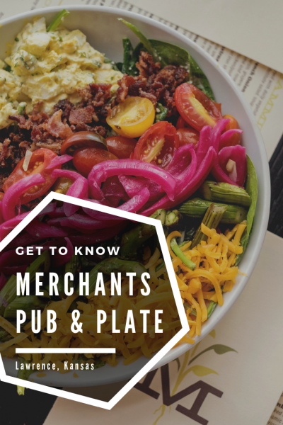 Local food at Merchants Pub and Plate in Lawrence