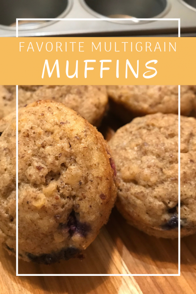 Pin this delicious multigrain muffin recipe