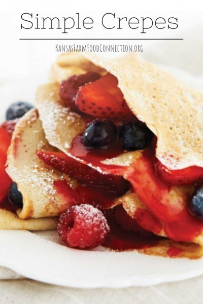 Simple Crepes Recipe Share