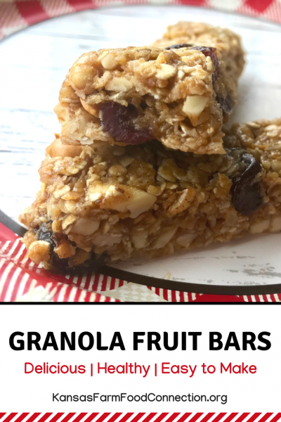 Pin this recipe for granola fruit bars