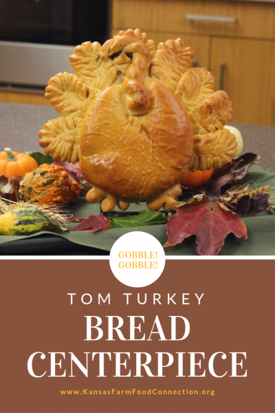 Tom Turkey Bread Recipe - Thanksgiving Centerpiece Idea