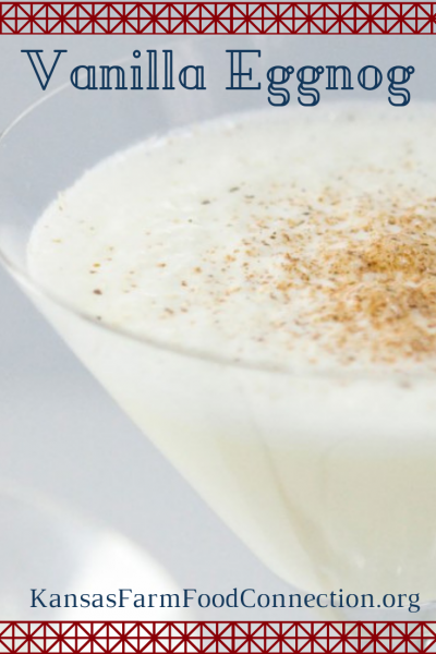 How to make your own eggnog - pin this recipe