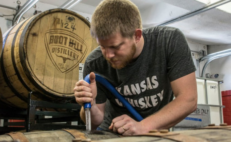 Kansas Whiskey Boot Hill Distillery