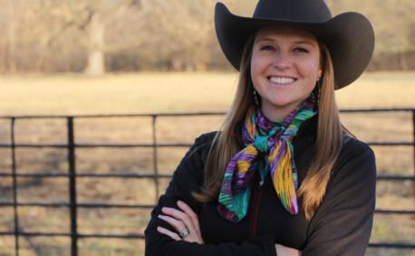 Brandi Buzzard Frobose Kansas Rancher