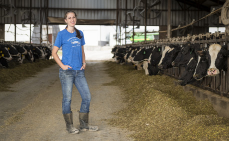 Melissa Hildebrand Reed of Hildebrand Farms Dairy