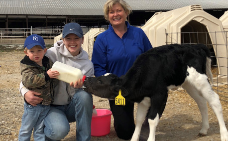 Kristina Haverkamp, Kelly Hills Dairy