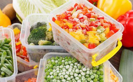 fresh and frozen vegetables