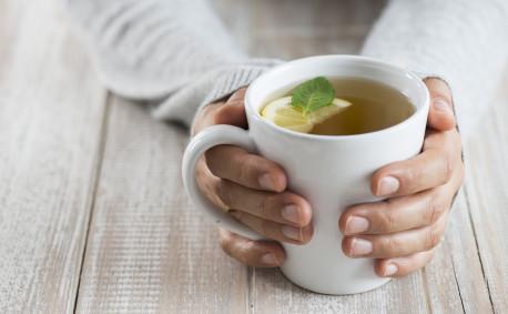 Calming effects of tea