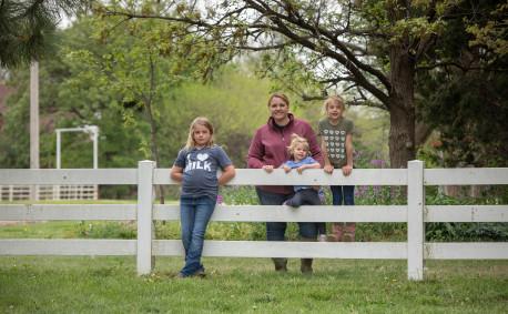 Kansas Dairy Farmer - MeLissa Dryzmalla