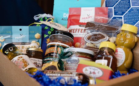 Kansas holiday gift baskets
