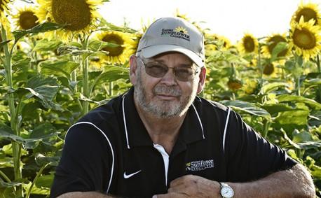 Kansas sunflower farmer Karl Esping