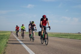Biking Across Kansas event 1