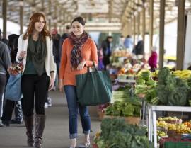 Women at Farmer's Market