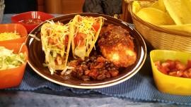 Recipe Slow Cooker Black Bean and Crispy Tacos