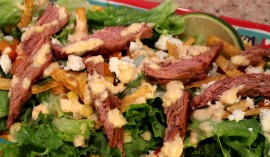 Recipe Grilled Corn-Fed Beef Salad