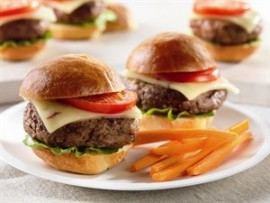 Recipe Spicy Cheeseburger Sliders