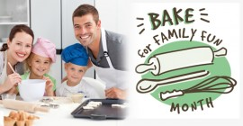 Bake for Family Fun in February